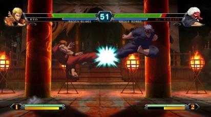 KOF-XIII-Ryo-vs-Karate